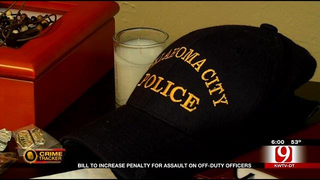 Bill To Increase Penalty For Assault On Off-Duty Officers