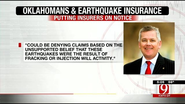 New Measure To Protect Oklahomans With Earthquake Insurance