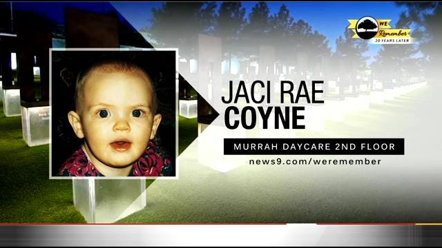 We Remember - 20 Years Later: Jaci Coyne