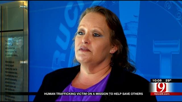 Human Trafficking Victim On Mission To Save Others