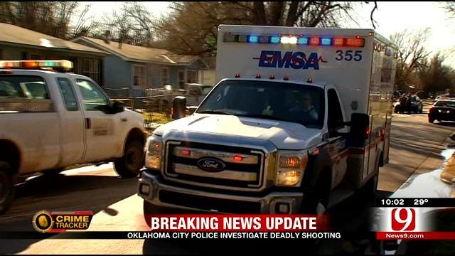 Police Search For Suspect In Deadly SW OKC Shooting
