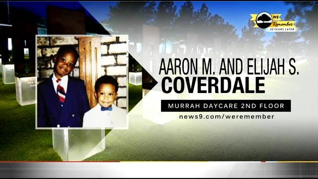 We Remember - 20 Years Later: Aaron & Elijah Coverdale