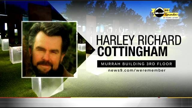 We Remember - 20 Years Later: Harley Cottingham