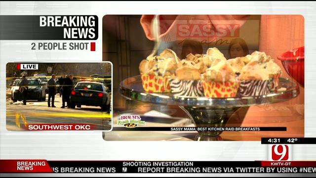 Loaded Cobblestone Muffins