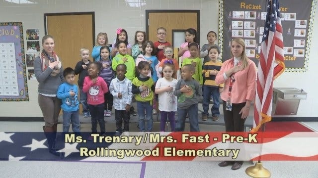 Mrs. Fast's and Ms. Trenary's Pre-K Class at Rollingwood Elementary School