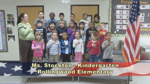 Ms. Stockton's Kindergarten Class at Rollingwood Elementary School
