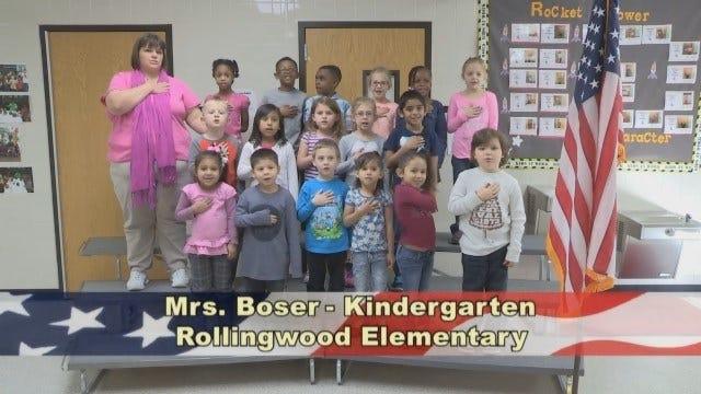 Mrs. Boser's Kindergarten Class at Rollingwood Elementary School