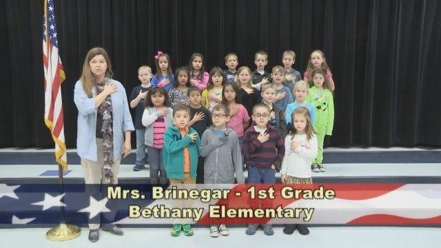 Mrs. Brinegar's 1st Class Grade at Bethany Elementary School