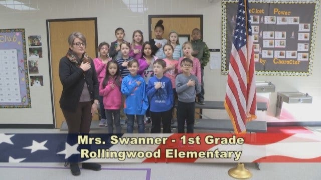 Mrs. Swanner's 1st Grade Class at Rollingwood Elementary