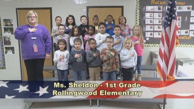Ms. Sheldon's 1st Grade Class at Rollingwood Elementary