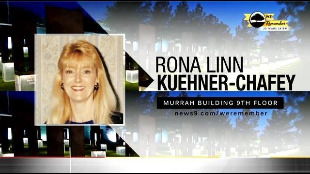 We Remember – 20 Years Later: Rona Kuehner-Chafey