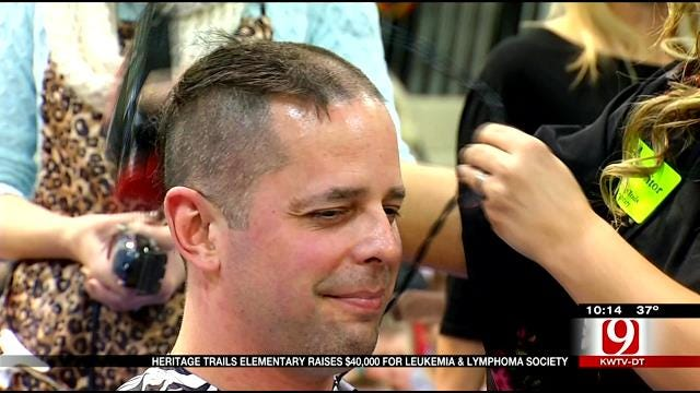Moore Students Raise Money And Shave Their Heads For Local Cancer Society