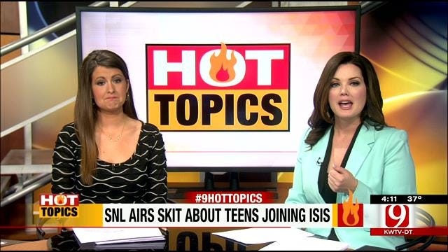 HOT TOPICS: SNL Airs Skit About Teens Joining ISIS
