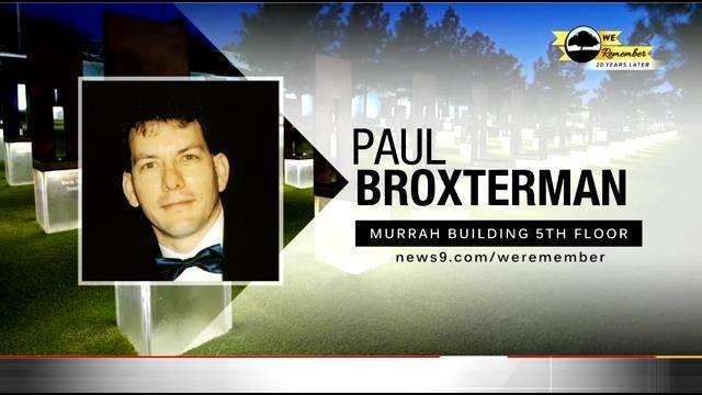 We Remember - 20 Years Later: Paul Broxterman
