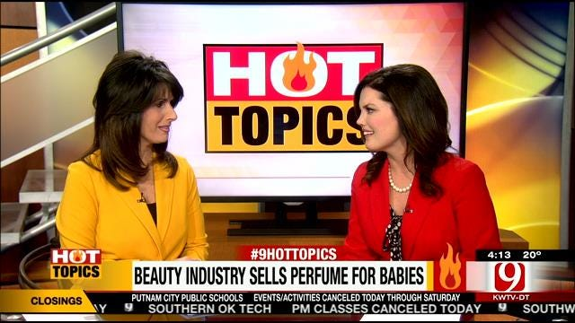 Hot Topics: Beauty Industry Sell Perfume For Babies