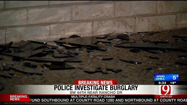 Police Seek Suspects In OKC Cellphone Store Burglary