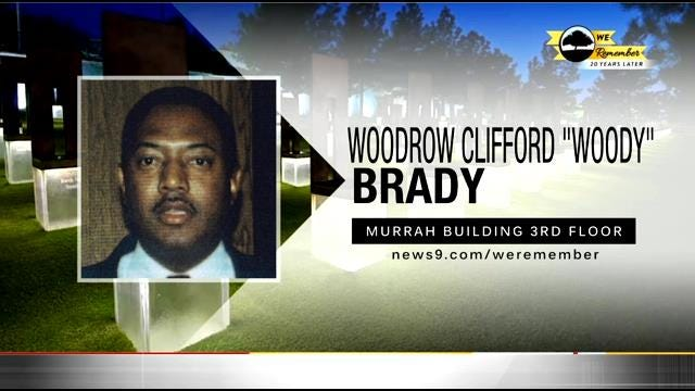 """We Remember - 20 Years Later: Woodrow Clifford """"Woody"""" Brady"""
