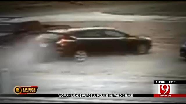 Woman Leads Purcell Police On Wild Chase