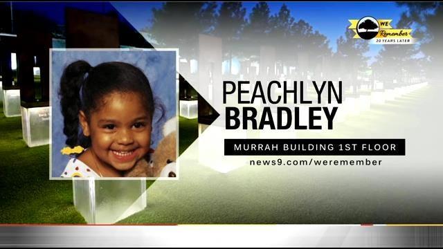 We Remember - 20 Years Later: Peachlyn Bradley