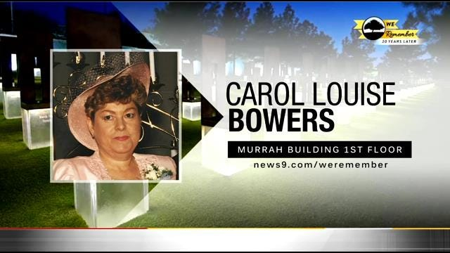 We Remember - 20 Years Later: Carol Bowers