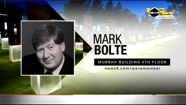 We Remember - 20 Years Later: Mark Bolte