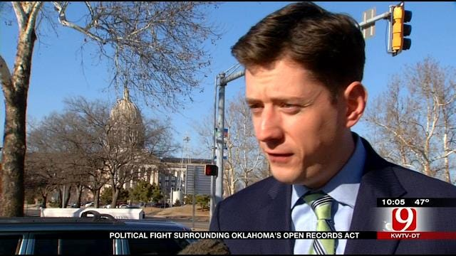 Political Fight Surrounds Oklahoma's Open Records Act