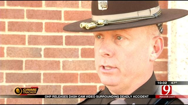 OHP Lt. Comments On Dash Cam Video Released In Deadly Accident