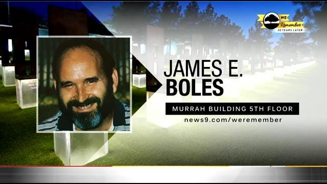 We Remember - 20 Years Later: James E. Boles