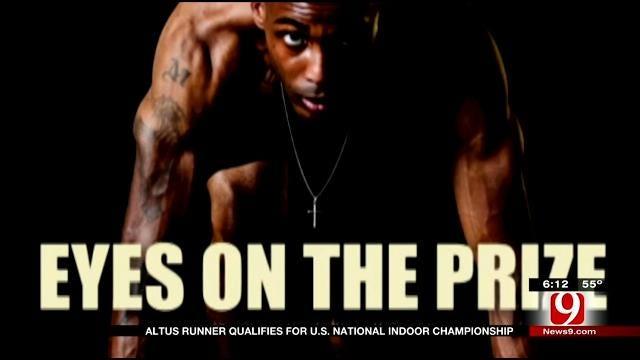 Altus Runner Qualifies For US Indoor Championships