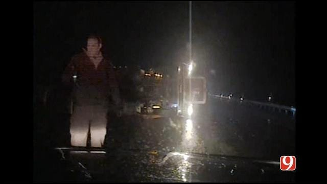 WEB EXTRA: Dash Cam Shows Moments Before-After Fatal OHP Trooper Accident