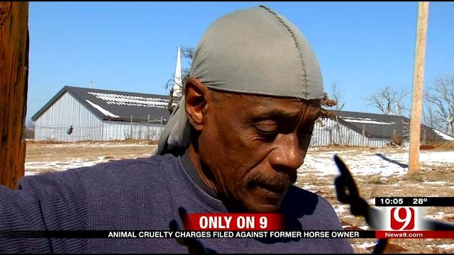 OKC Man Charged With Animal Cruelty After Horse Found Near Death