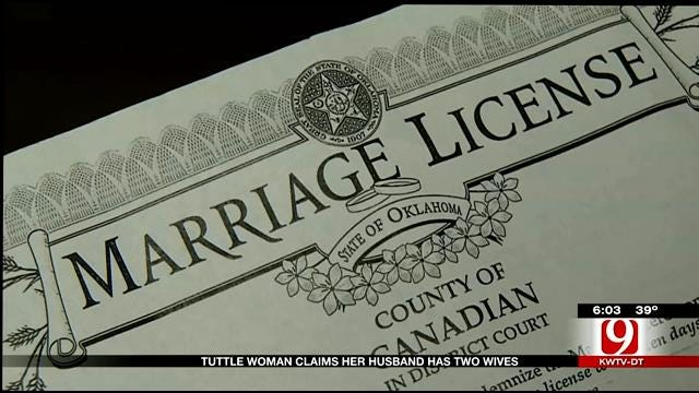 Tuttle Woman Claims She Is A Victim Of Bigamy