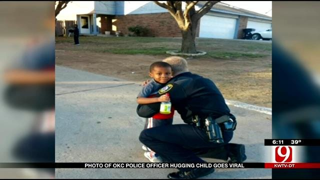 OKC Police Photo Captures The Hearts Of Millions
