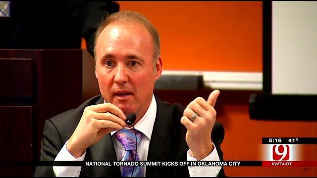 David Payne Speaks At National Tornado Summit In OKC