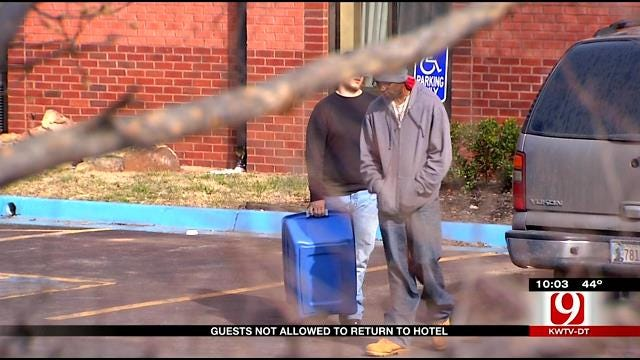 Metro Hotel Guests Forced To Leave After Standoff