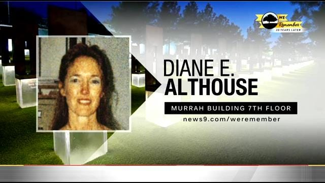 We Remember - 20 Years Later: Diane Althouse
