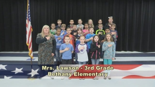 Mrs. Lawson's 3rd Grade Class At Bethany Elementary School