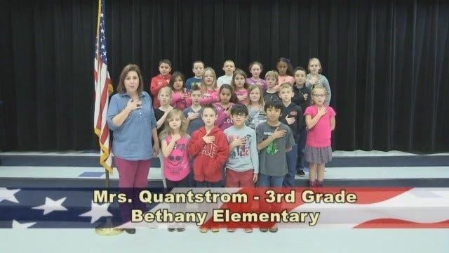 Mrs. Quantstrom's 3rd Grade Class At Bethany Elementary School