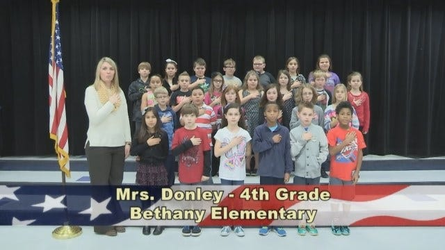 Mrs. Donley's 4th Grade Class At Bethany Elementary School