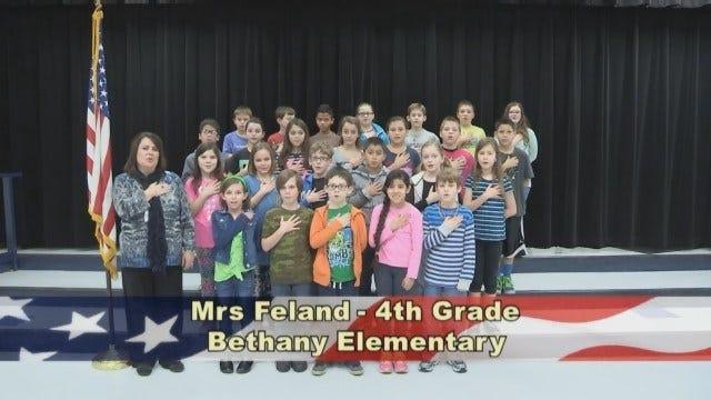 Mrs. Feland's 4th Grade Class At Bethany Elementary School