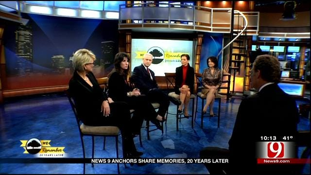 News 9 Anchors Remember OKC Bombing
