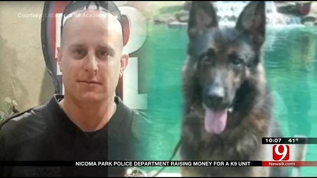 Nicoma Park Police Department Raising Money For K9 Unit