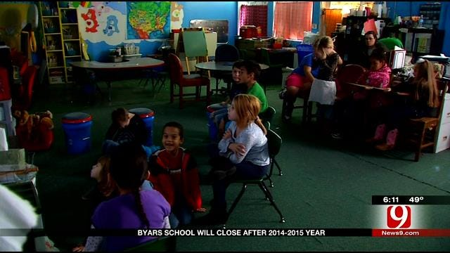 Byars School Will Close After 2014-2015 Year