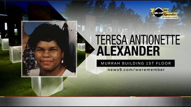 We Remember - 20 Years Later: Teresa Alexander