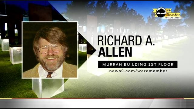We Remember - 20 Years Later: Richard A. Allen