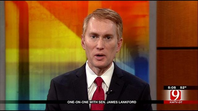 One-On-One With Oklahoma Sen. James Lankford