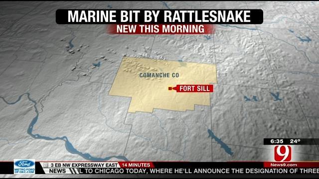 Fort Sill Marine's Leg Amputated Following Rattlesnake Bite