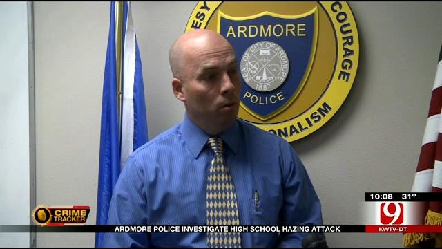 Ardmore Police Investigate High School Hazing