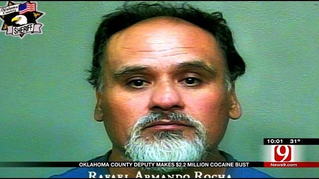 Oklahoma County Deputy Makes $2 Million Cocaine Bust