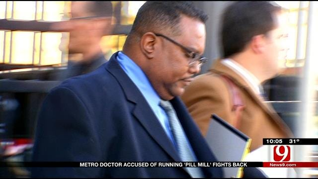 """Metro Doctor Accused Of Running """"Pill Mill"""" Fights Back"""